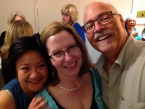 Suzette Standring, Samantha Bennett, and Dan St. Ives
