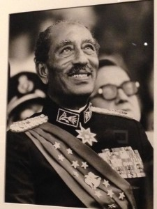 """Last Smile,"" Anwar Sadat taken by Bill Foley"