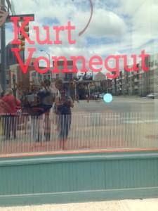 Front of Kurt Vonnegut Library