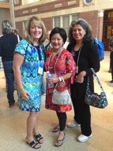 Lisa Molinari, Suzette Standring, Kathy Eliscu